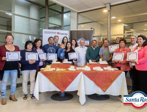 Taller de recetas con los productores de INDAP